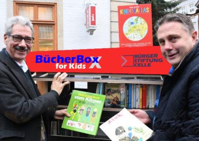 BücherBox for Kids  neu auf dem Weihnachtsmarkt