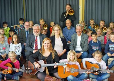 Instrumentalklassen-Projekt löst Musik in die Grundschulen ab