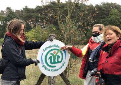 Schulwaldprojekt gestartet