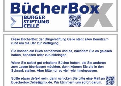 BücherBox Nummer 5 freut sich auf Nutzer